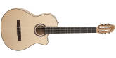 Godin Guitars - Arena Flame Maple CW Crescent II Nylon Guitar w/Gig Bag