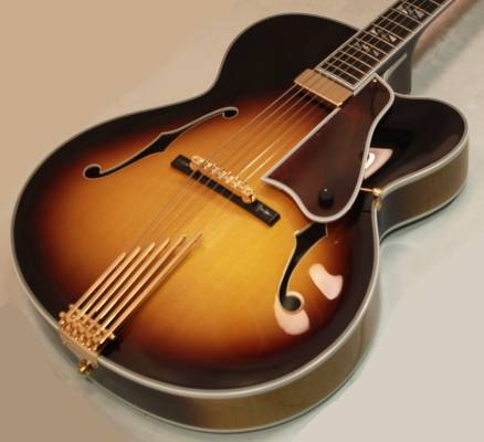 Le Grande Reissue Hollowbody Electric - Vintage Sunburst