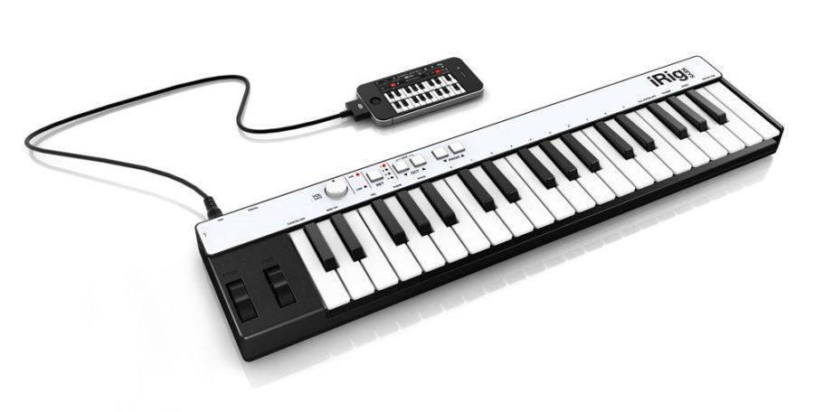 IK Multimedia IRig Keys Controller - Long & McQuade Musical