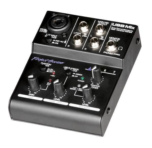 art pro audio mini usb recording mixer long mcquade musical instruments. Black Bedroom Furniture Sets. Home Design Ideas