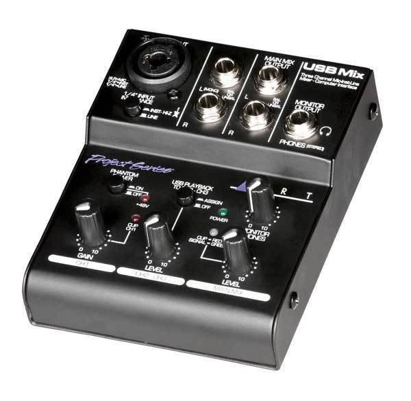 art pro audio mini usb recording mixer long mcquade musical instruments. Black Bedroom Furniture Sets. Home Design Ideas