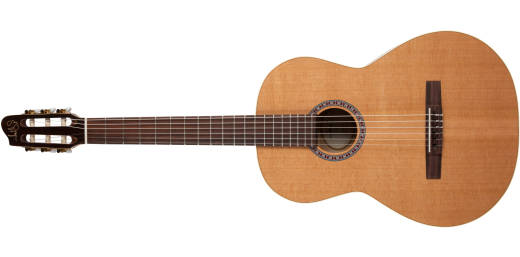 Etude Cedar/Cherry Nylon Acoustic Guitar, Left-Handed