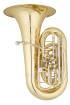 Eastman Winds - Professional CC 4 Piston + Rotary Valve Tuba with 19 3/4 Bell - Lacquered