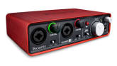 Focusrite - USB Audio Interface - 24/96 2 In, 2 Out