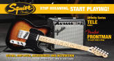 Squier - Affinity Telecaster Packs with Frontman 15G Amp