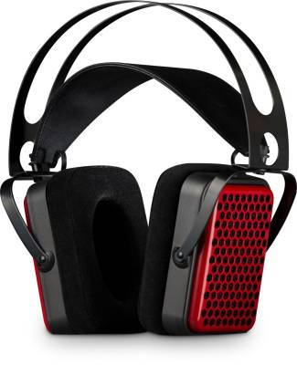 Planar Open-back Headphones - Red