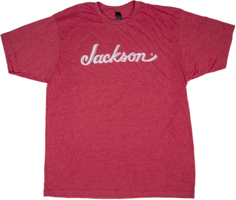 Jackson Logo Tee, Red - Extra Large