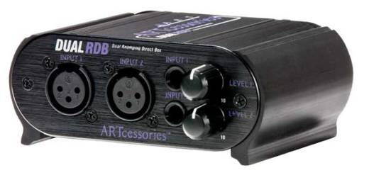 Art Dual Re-amping Direct Box w/Level Attenuators