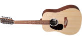 Martin Guitars - D-X2E Sitka Spruce/Mahogany HPL 12-String Acoustic-Electric w/Gig Bag - Left-Handed