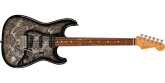 Fender - Limited Edition Black Paisley Stratocaster with Gigbag