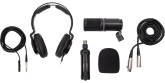 Zoom - ZDM-1 Podcast Mic Pack Accessory Bundle