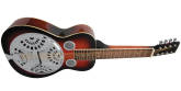 Gold Tone - Paul Beard Signature-Series 8-String Squareneck Resonator Guitar with Case