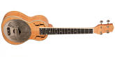 Gold Tone - ResoMaple Tenor-Scale Curly Maple Resonator Ukulele with Gig Bag