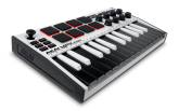 Akai - MPK Mini MKIII 25-Note Keyboard/Drum Pad Controller - White