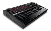 Akai - MPK Mini MKIII 25-Note Keyboard/Drum Pad Controller - Limited Edition Black