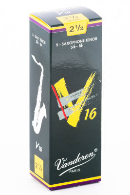 V16 Tenor Sax Reeds 2 1/2 - Box of 5