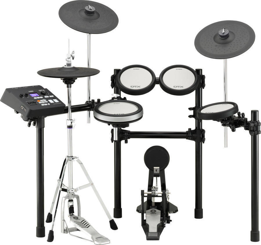 Yamaha electric drum set images for Yamaha dtx450k electronic drum set