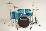 Ludwig Drums - Epic Euro 6 Piece Drum Kit - Celestial Blue