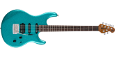 Ernie Ball Music Man - Luke III HSS, Rosewood Fingerboard with Case - Ocean Sparkle