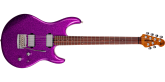 Ernie Ball Music Man - Luke III HH, Rosewood Fingerboard with Case - Fuschia Sparkle