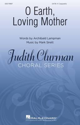 O Earth, Loving Mother - Lampman/Sirett - SATB