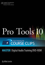 Pro Tools 10: Course Clips (DVD-ROM)
