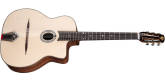 Eastman Guitars - DM1 Gypsy Jazz Acoustic with Gig Bag - Natural
