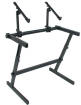 QuikLok - Z-726 Double Tier Height Adjustable Keyboard Stand