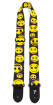 Perris Leathers Ltd - 2 Emoji Guitar Strap - Yellow Faces