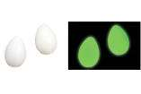 Latin Percussion - Glow-in-the-Dark Egg Shakers (pair)