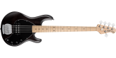 Sterling by Music Man - Ray5 5-String Stingray Bass - Black