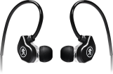 Mackie - CR-Buds+ Dual-Driver Professional Fit Earphones with Mic and Phone Control