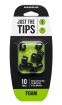 Mackie - Foam Tips for MP Series In-Ear Headphones (10/Pack) - Small