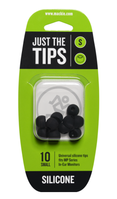 Silicone Tips for MP Series In-Ear Headphones (10/Pack) - Small
