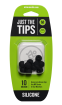 Mackie - Silicone Tips for MP Series In-Ear Headphones (10/Pack) - Medium