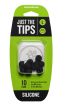 Mackie - Silicone Tips for MP Series In-Ear Headphones (10/Pack) - Large