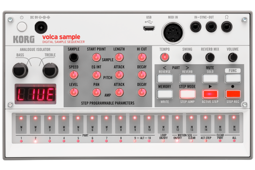 Volca Sample 2 Digital Sample Sequencer