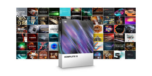 Komplete 13 Virtual Instrument Software Bundle