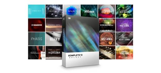 Komplete 13 Select Software Suite