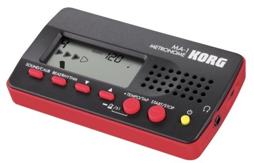 Digital Metronome - Red/Black