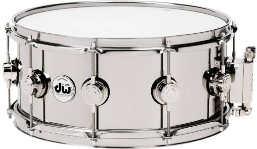 Collector's Series Stainless Steel 6.5x14'' Snare Drum