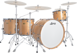 Ludwig Drums - Centennial Zep 4-Piece Shell Pack (26,14,16,18) - Natural Maple