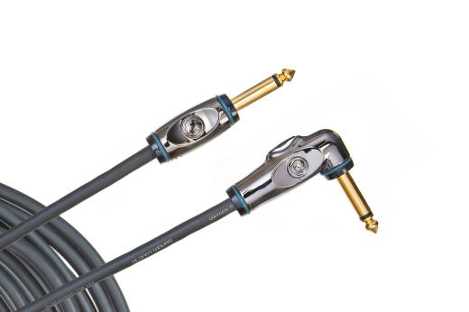 Circuit Breaker Guitar Cable with Right Angle - 10 Foot