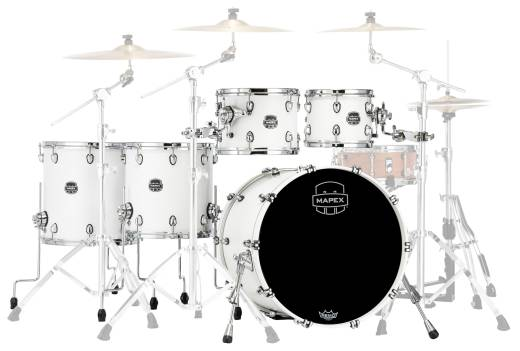 SR628XRM Saturn Renew 5-Piece Shell Pack (22,10,12,14,16) - Satin White
