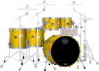 Mapex - Saturn Evolution 5-Piece Shell Pack (22, 10, 12, 14, 16) - Tuscan Yellow