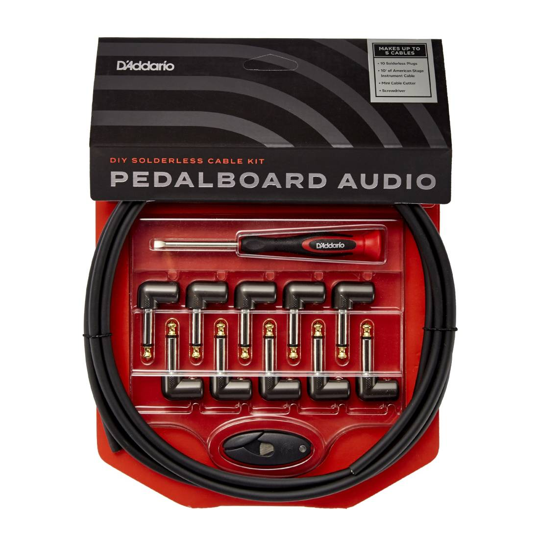Planet Waves Cable Station Pedal Board Kit Long