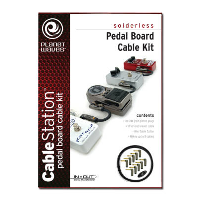 Cable Station Pedal Board Kit