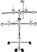 Gibraltar - Stealth Series Chrome Electronic Drum Rack