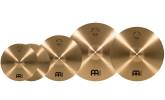 Meinl - Pure Alloy Cymbal Pack (14HH, 16C, 18C, 20R) with Ching Ring and Bacon