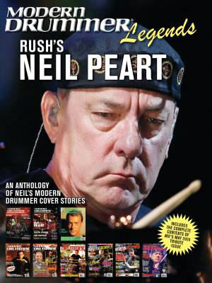 Modern Drummer Legends: Rush's Neil Peart - Book